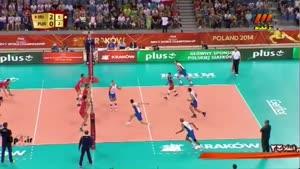والیبال ایران ۳-۰ پورتوریکو ۹۳/۰۶/۱۶ ست سوم