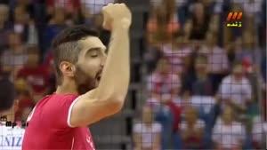 والیبال ایران ۳-۰ پورتوریکو ۹۳/۰۶/۱۶ ست اول