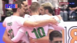 لیگ ملتهای والیبال ژاپن ۰ - بلغارستان ۳