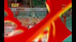والیبال جهانی ۱۳۹۳/۰۶/۲۰ ایران ۳-۰ آرژانتین ست ۲