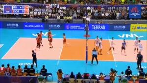 لیگ ملتهای والیبال ایران ۳  کره جنوبی ۱