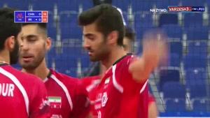 لیگ ملتهای والیبال ایران ۳ -چین ۰
