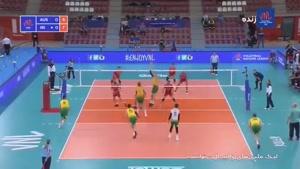 لیگ ملتهای والیبال استرالیا ۰ ایران ۳