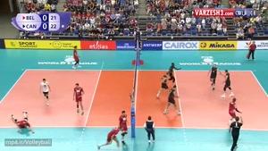 بلژیک ۲-۳ کانادا