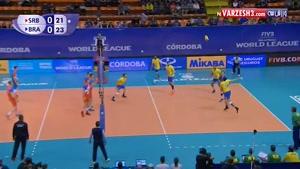 صربستان ۱-۳ برزیل