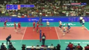 لیگ ملتهای والیبال ایران 2 - صربستان 3