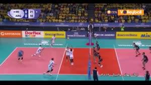خلاصه والیبال ایران ۳-۲ آرژانتین (لیگ جهانی والیبال)