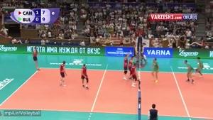 کانادا ۳-۱ بلغارستان
