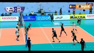 ایران ۳-۲ آرژانتین