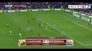 بارسلونا ۴-۱ اسپانیول