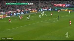 بایرن مونیخ 1-0 وولفسبورگ