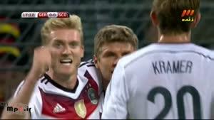 آلمان ۲ - ۱ اسکاتلند