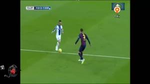 بازی بارسلونا ۵-۱ اسپانیول
