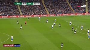 آرژانتین 2 - ایتالیا 0