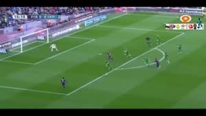 بارسلونا ۵ - ۰ لوانته