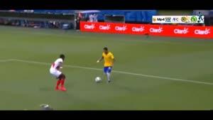 برزیل ۳-۰ پرو