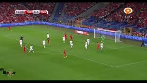 سوئیس ۰ - ۲ انگلیس