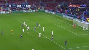 خلاصه بازی بارسلونا و المپیاکوس