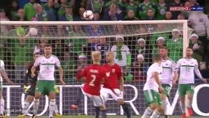 بازی نروژ ۱ - ایرلند شمالی ۰