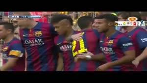بارسلونا ۲-۲ لاکرونیا