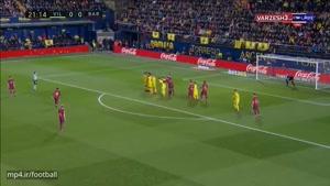 خلاصه بازی ویارئال ۰ - بارسلونا ۲