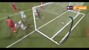 آرژانتین ۵-۰ پاناما (هتریک مسی)