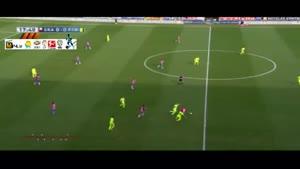گرانادا ۱-۳ بارسلونا