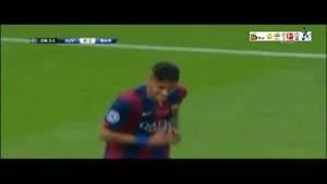 یوونتوس ۱-۳ بارسلونا