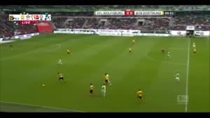 وولفسبورگ ۲-۱ دورتموند