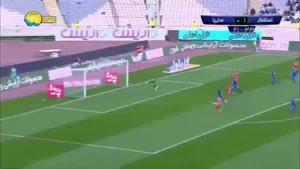 خلاصه بازی استقلال تهران ۲ - سایپا ۲ +پنالتی ( جام حذفی)
