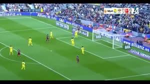 بارسلونا ۳-۰ ویارئال