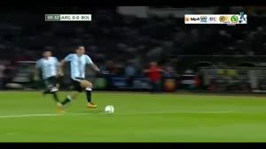 آرژانتین ۲-۰ بولیوی