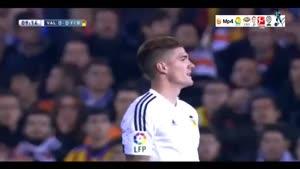 والنسیا ۱-۱ بارسلونا