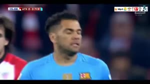 بیلبائو ۱-۲ بارسلونا