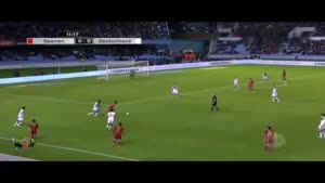اسپانیا ۰-۱ آلمان