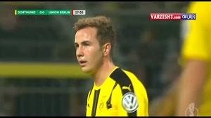 خلاصه بازی دورتموند 1-1 اونیون برلین (پنالتی 3-0)