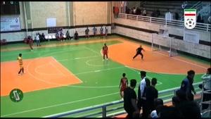 خلاصه بازی شهرداری ساوه و آتلیه طهران قم