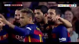 بارسلونا ۷-۰ والنسیا