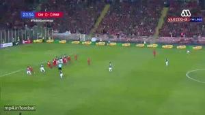خلاصه بازی شیلی ۰ - ۳ پاراگوئه