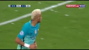 گلادباخ ۱-۲ بارسلونا