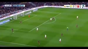 بارسلونا ۲-۱ سویا