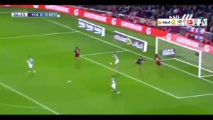 بارسلونا ۴-۰ رئال بتیس