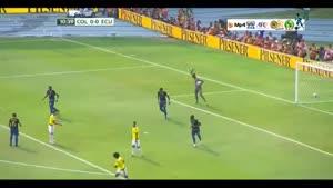 کلمبیا ۳-۱ اکوادور