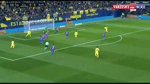 ویارئال ۱-۱ بارسلونا (سوپرگل مسی)