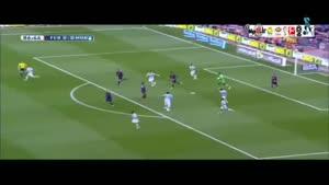 بارسلونا ۰-۱ مالاگا
