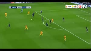 بارسلونا ۲-۱ اتلتیکومادرید