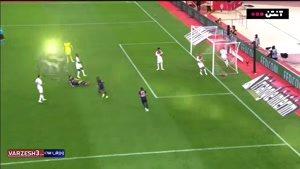 خلاصه بازی موناکو 0 - پاری سن ژرمن 4 (هتریک کاوانی)