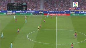 اتلتیکو مادرید ۱ - بارسلونا ۱
