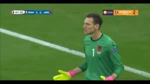رومانی ۰-۱ آلبانی (یورو ۲۰۱۶)
