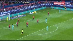اوساسونا ۰-۳ بارسلونا